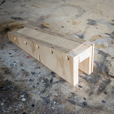 SCARF JOINT PATAGARRO