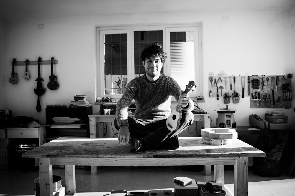 Marco Todeschini Ukulele maker