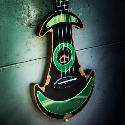 UFOS Ukuleles From Outer Space - Electric Ukulele-2
