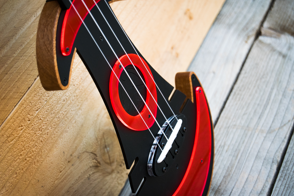 UFOS Ukuleles From Outer Space - Red
