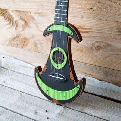 Green maple UFOS Electric Ukulele