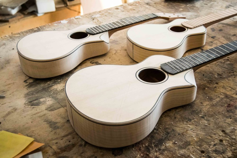acoustic ukuleles building