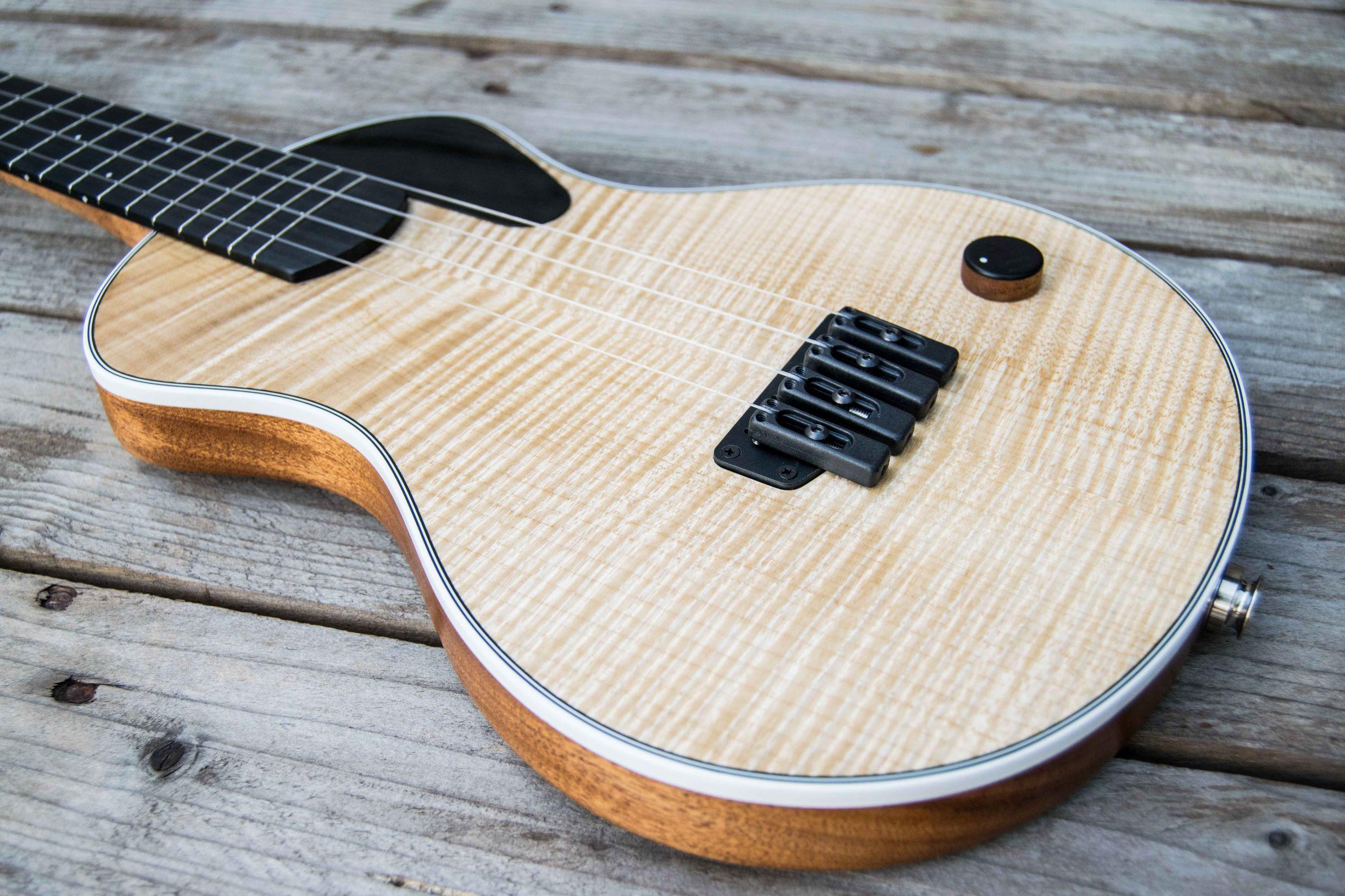 Custom Elettrico with maple top