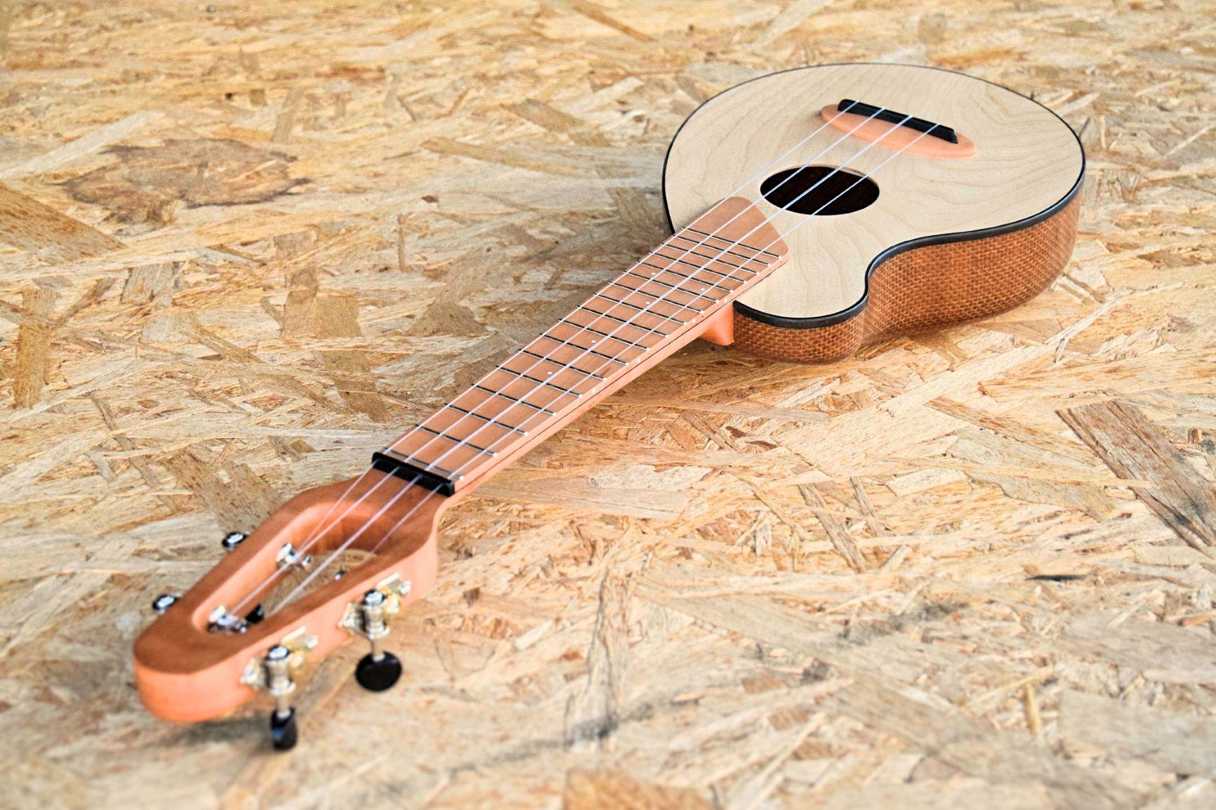 Sacco Biocomposite jute ukulele