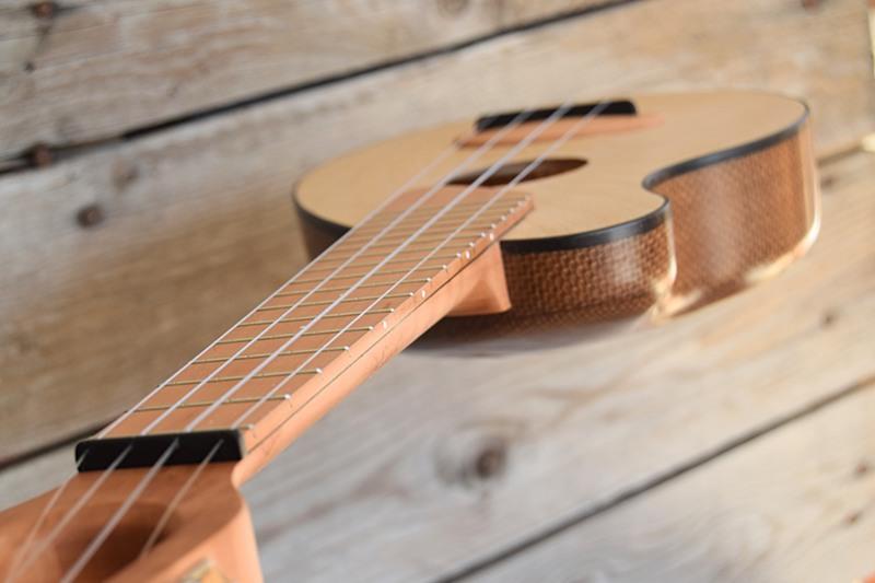 Sacco bio composite jute ukulele
